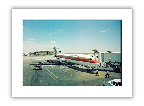 aviation-mounted-print-continental-airlines-727-denver