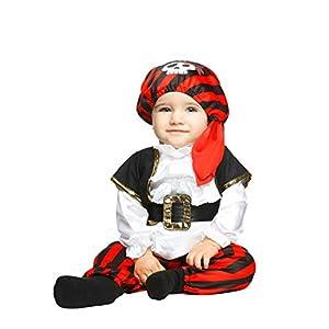 My Other Me Me-203817 Disfraz de pequeño pirata para niño, 7-12 meses (Viving Costumes 203817
