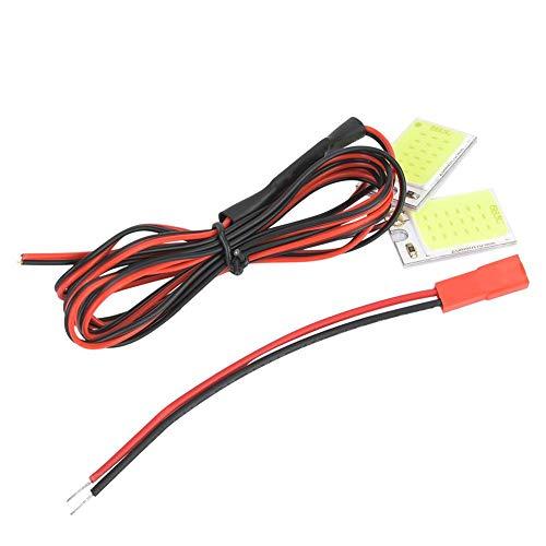 VGEBY1 Blitzlicht Blitz, Langlebiges Blitzlicht LED Modul mit 80 cm JST Stecker für Fahrzeugmodell
