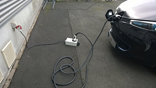 Renault ZOE 11kW TYP2 Ladecontroller Lader Notladeadapter CEE 16A Drehstrom Nissan Leaf -