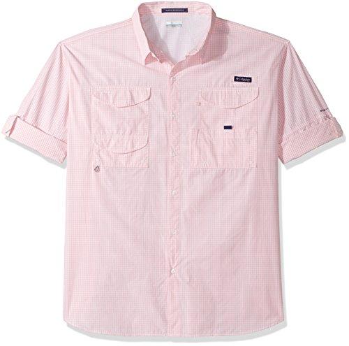 Columbia Herren Big Super Bonehead Klassisches Kurzarm-Shirt, Cupid Gingham, XL/hoch - Bonehead Kurzarm-shirt