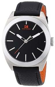 Boss Orange Herren-Armbanduhr XL Analog Quarz Leder 1512855