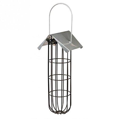 Trixie 55623 Meisenknödelhalter, 11 × 25 × 10 cm, schwarz