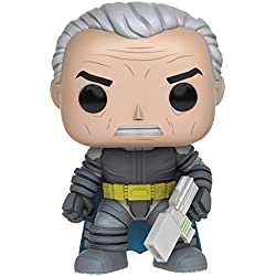 Pop Heroes Dark Knight Returns Unmasked Armored Batman Vinyl Figure