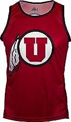 NCAA Utah Utes RUN/TRI Singlet, Red, X-Small