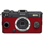 Pentax Q-S1 Systemkamera (12 Megapixel, 7,6 cm (3 Zoll) HD-LCD-Display, bildstabilisiert, DRII Dust Removal System, Full-HD-Video, HDMI) nur Gehäuse gunmetal