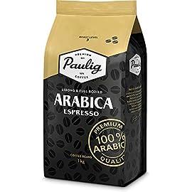 Paulig Arabica Espresso Coffee Beans – Master Blend of 100% Arabica – Full Bodied Roast Level 3 – Perfect Balance of…