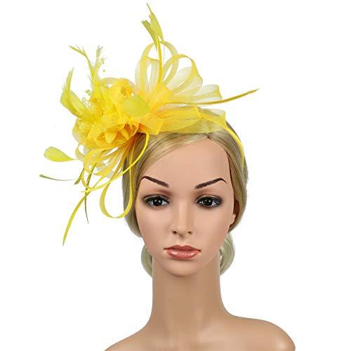 Likecrazy Stirnband Flapper Accessoires Floral Kopfschmuck schweißband 80er Haarband Erwachsene...