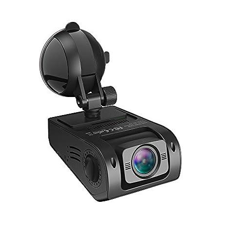 Caméra Embarquée Voiture VAVA DASH CAM Full HD 1080P 30fps Conduite Enregistreur Grand Angle 160°, WDR, Capteur-G, Enregistrement en Boucle, Double ports USB Chargeur inclus