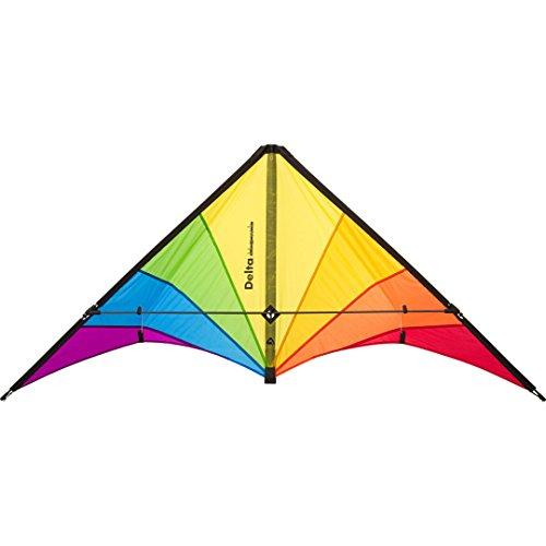 HQ Delta Hawk Rainbow Kites, 116007, Mehrfarbig