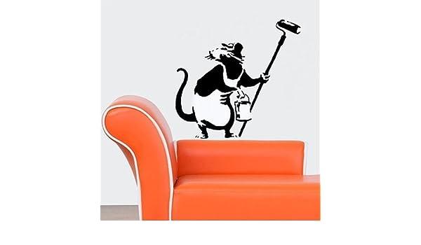 SEMI-TRASPARENTI STAMPO XS// 11X17CM RAGAZZA CON PALLONCINI BANKSY Stencil riutilizzabile decorazione della parete di casa Stampo graffiti stile Bansky ARTE Stampo PITTURA MURI TESSUTI /& MOBILI