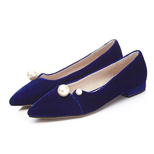 Luce Disegna Solido Sapphire Colore Tacco Tagliente Basso Scarpe Dépolissement Donna Voguezone009 Y1ZOT81