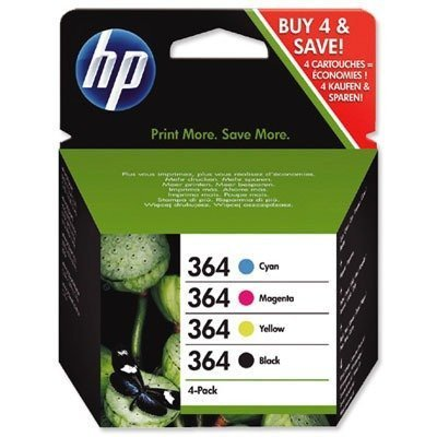HP SD534EE#301 - 364 Combo Pack - 4-pack - black. yellow. cyan....