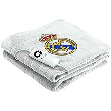 Imetec Real Madrid - Manta eléctrica para sofá, 120 x 160 cm, individual,