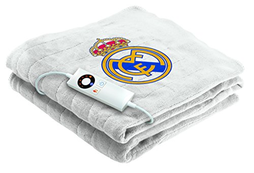 Imetec Real Madrid - Manta eléctrica para sofá