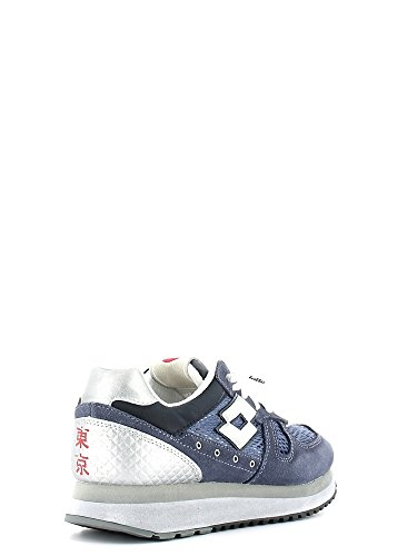 Lotto S0247 Sneakers Damen Spaltleder Blau