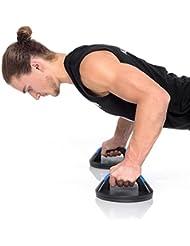Steely Sports Poignées d'appui rotatives Poignées de pompes/push-up