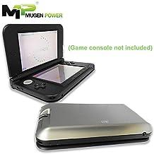 """Mugen Power - Nintendo 3DSXL 5800mAh batería extendida más de 3X más tiempo de ejecución (cubierta de color de plata están incluidos) """"consola de juegos no incluidos"""" (NO PARA NUEVA Nintendo 3DSXL)"""