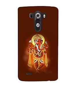 printtech Lord God Ganesha Back Case Cover for LG G3::LG G3 D855