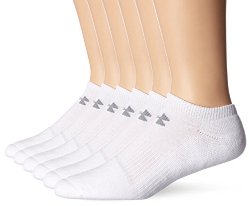 Under Armour Herren Ua Charged Cotton 2 Noshow Socken White