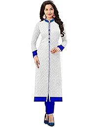 Nirdharit Lifestyle Women's Cotton & Crepe Kurti (Multi Color)