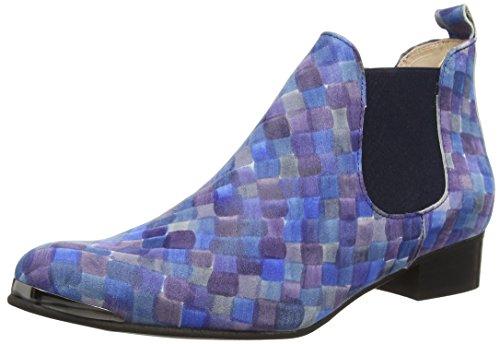 TAPODTS Tess 1 Damen Chelsea Boots Blau (1419 blue + Elastic blue)