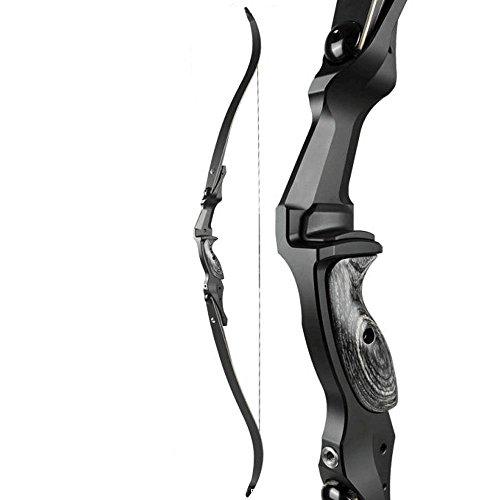 Bogenschießen Jagd Recurve Bogen Takedown Recurve Bogen (45lbs Für Rechte hand)