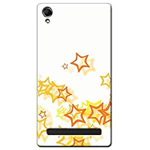 COLORFUL DESIGN BACK COVER FOR INTEX AQUA POWER PLUS