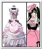 Sunkee Black Butler Cosplay Shieru·Pandomuhaiwu Formelle Kleidung Cosplay Kostüm, Größe XL ( Alle Größe Sind Wie Beschreibung Gesagt, überprüfen Sie Bitte Die Größentabelle Vor Der Bestellung )