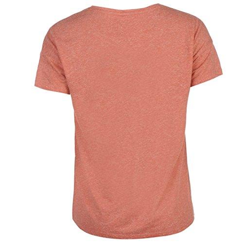 Jdy Femmes Luna Hug T-Shirt Col Rond Tee Top Haut Col Rond Manches Courtes Hug Blush