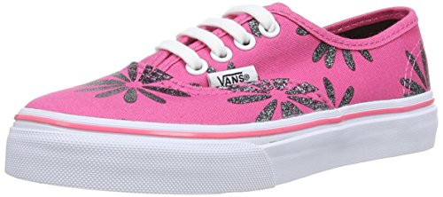 Vans  K Authentic,  Unisex Kinder Hohe Sneakers Sparkle Pink