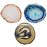 Piedras Preciosas de Ágata Natural, Originalmente Material Natural con un Bonito...