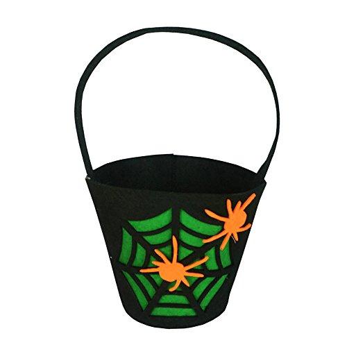 VEMOW Heißer Nette Süße Baby Mädchen Jungen Kürbis Lagerung Halloween Party Zubehör Tasche Einzigen Handtaschen Taschen(Tasche, G)