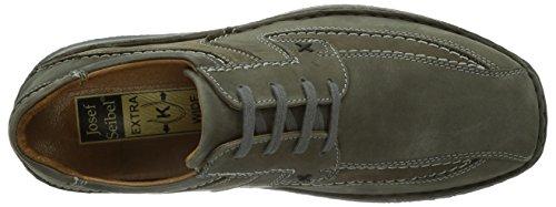 Josef Seibel Schuhfabrik GmbH Anvers 08 43360 23 600, Chaussures basses homme Gris - Grau (vulcano 707)