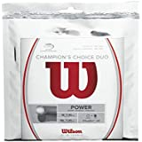 Wilson Champions Choice Duo Tennis String, Natural
