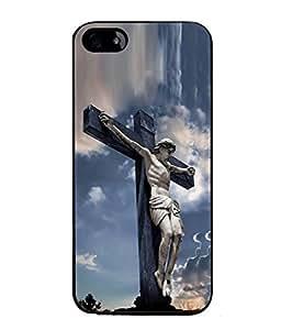 PrintVisa Designer Back Case Cover for Apple iPhone 4S (Catholic Catholicism Cemetery Cross Christ Christian Beautiful Christianity)