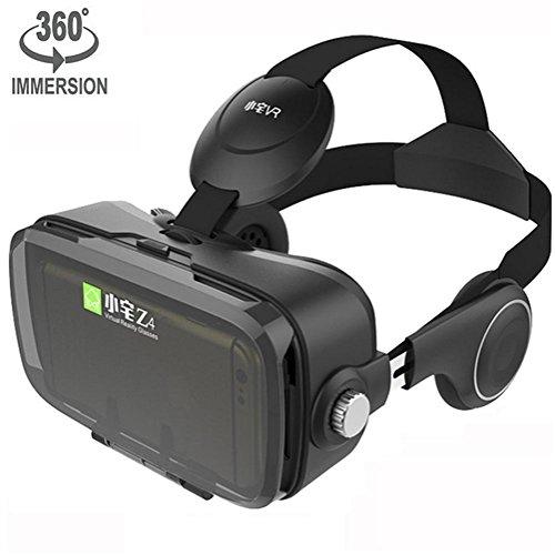 HUYAN1 3D VR Headset Virtuelle Realität Headset Virtual Reality Brille Headset 3D VR Brille 3D...