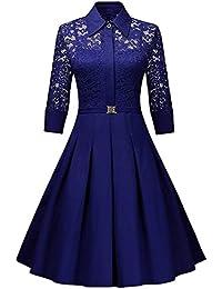 SantSayaa Creation Women Western Wear Short Dress (Free Size Royal Blue)