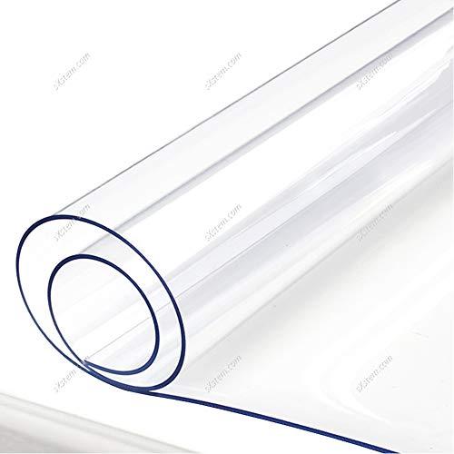Yizunnu - Mantel Impermeable de 1 mm de Vinilo