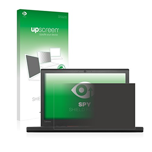 upscreen Blickschutzfilter kompatibel mit Lenovo ThinkPad X260 Privacy Filter - Anti-Spy Blickschutzfolie Sichtschutz-Folie