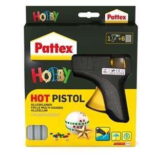 Heissklebepistole Pattex Starterset mit 1 x Pistole + 6 x Patronen
