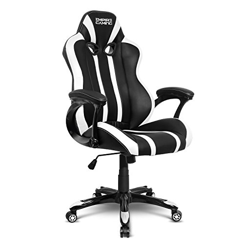 Empire Gaming - Poltrona Gamer Racing 600 Series Bianca - Modello sedia...