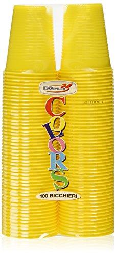 dopla-colors-bicchieri-in-plastica-colore-giallo-100-pezzi