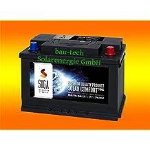 100Ah 12Volt Calcium Solar Batterie Akku Wohnmobil Boot Versorgungsbatterie von bau-tech Solarenergie GmbH