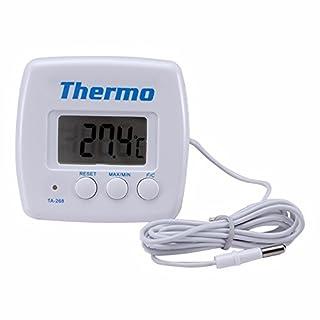 KUNSE Ta268A Digitale Kühlschrank Aquarien Küche Thermometer Elektronischen Temperaturmesser Mit Sensor Sonde