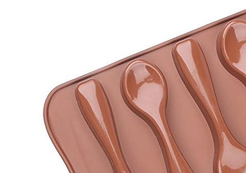 Silikon Löffel Form Schokolade Kuchenform Sugar Candy Dekorieren Form zum Backen
