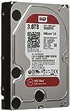 WD Red 3TB interne Festplatte SATA 6Gb/s 64MB interner Speicher (Cache) 8,9 cm (3,5 Zoll) 24x7 5400Rpm optimiert für  SOHO NAS Systeme 1-8 Bay HDD Bulk WD30EFRX