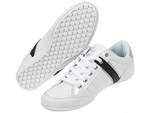 Rb7 - Rb7 008 white shoes - Chaussures basses cuir ou synthétique Blanc