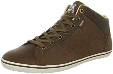 K-Swiss HOF III MID VNZ 02938-203-M, Herren Trainers, Braun (Brown/Antique White), EU 39.5 (UK 6)