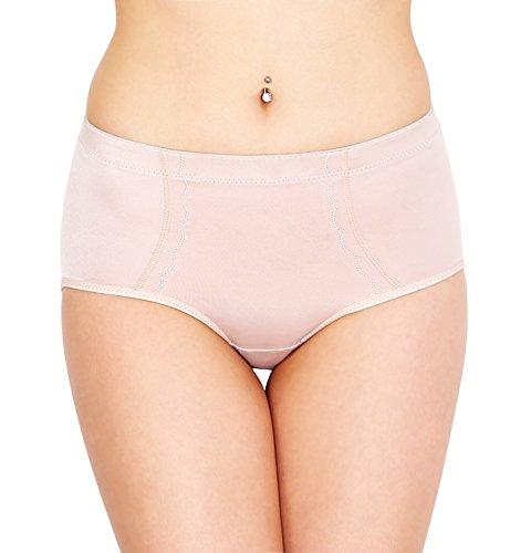 Culotte galbante & gainante SODACODA - Avec coussinets en silicone, pour des fesses parfaites sans effort ! S-XXL - Noir ou Chair